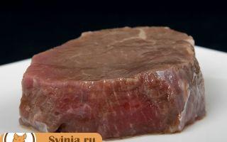 Какой выход мяса свинины от живого веса
