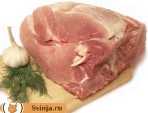 мясо на свинной шашлык