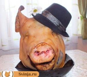 Голова свиньи 1